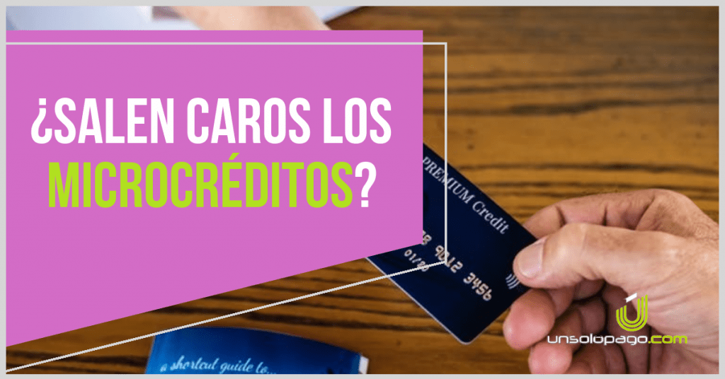 Los micrecreditos salen caros